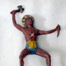 Figuras de Borracha e PVC: INDIO DE TEIXIDÓ EN GOMA AÑOS 50. Lote 7169141
