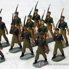 Figuras de Goma y PVC: 13 SOLDADOS DE PECH HERMANOS DE DESFILE DEL CUERPO DE LEGIONARIOS. Lote 19169056