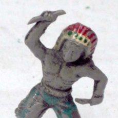 Figuras de Goma y PVC: INDIO DE PLÁSTICO DE CAPELL AÑOS 60. Lote 7650759