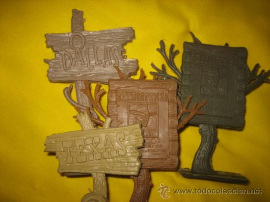 Figuras de Goma y PVC: 2 POSTES RECOMPENSA,1 TEXAS ,1 DALLAS ,COMANSI,REAMSA? - Foto 2 - 13542534