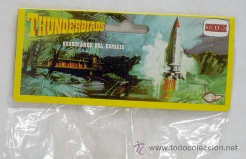 Figuras de Goma y PVC: 12 figuras Thunderbirds de Comansi Guardianes del Espacio años 80 - Foto 2 - 49119817
