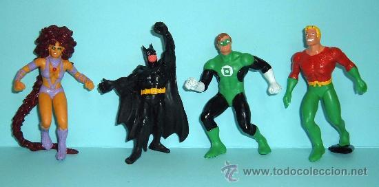 LOTE FIGURAS PVC - MUÑECOS GOMA - SUPERHEROES - COMICS SPAIN / COMIC FIGURAS / BULLY (Juguetes - Figuras de Goma y Pvc - Comics Spain)