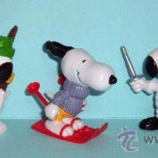 Figuras de Goma y PVC: LOTE FIGURAS PVC - MUÑECOS GOMA - SNOOPY / PEANUTS - COLECCION SCHLEICH ¡NUEVAS! LOTE 1. Lote 9435930
