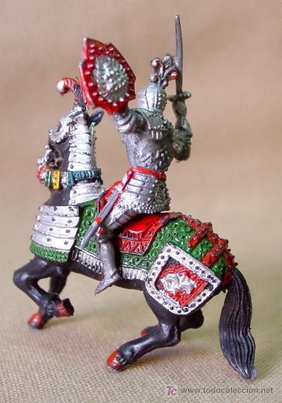 Figuras de Goma y PVC: FIGURA DE PLASTICO, CABALLERO MEDIEVAL, LAFREDO, 5,5 CM, - Foto 2 - 16426372