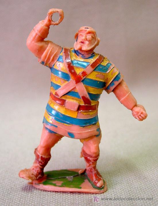 FIGURA DE PLASTICO GOLIATH ESTEREOPLAST 1960S NO JIM (Juguetes - Figuras de Goma y Pvc - Estereoplast)