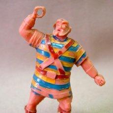 Figuras de Goma y PVC: FIGURA DE PLASTICO GOLIATH ESTEREOPLAST 1960S NO JIM. Lote 34022471