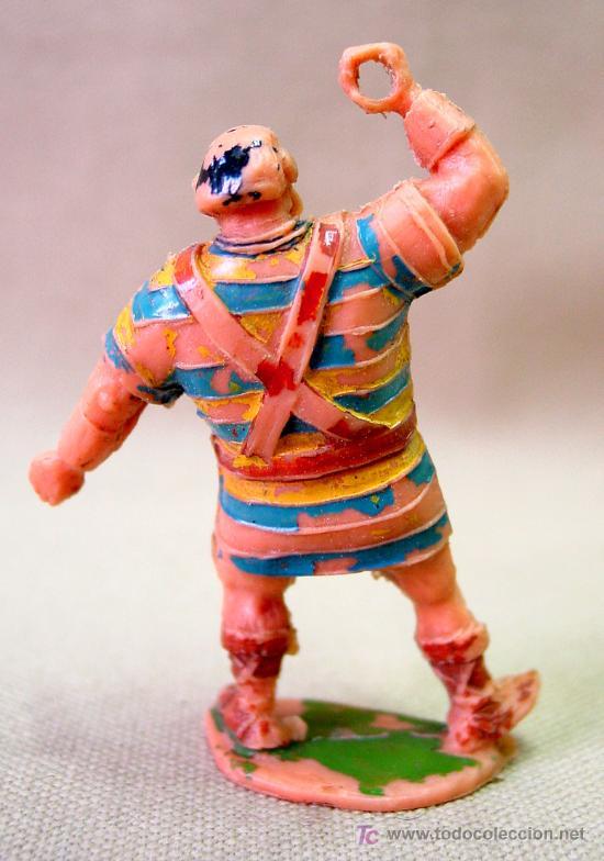 Figuras de Goma y PVC: FIGURA DE PLASTICO GOLIATH ESTEREOPLAST 1960s NO JIM - Foto 2 - 34022471