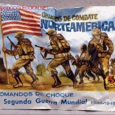 Figuras de Goma y PVC: MONTAPLEX SOBRE GRUPOS COMBATE NORTEAMERICA USA ARMY 2WW PATON MONTAPLES. Lote 259035700