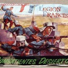 Figuras de Goma y PVC: MONTAPLEX SOBRE GRUPOS COMBATE LEGION FRANCESA EXTRANJERA. Lote 146980181
