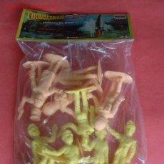 Figuras de Goma y PVC: MUÑECOS 12 THUNDERBIRDS GUARDIANES DEL ESPACIO DE COMANSI. Lote 13758820