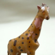 Figuras de Goma y PVC: PRIMITIVA FIGURA EN GOMA 50S JIRAFA LAFREDO SERIE AFRICA SALVAJE . Lote 11599830
