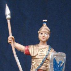 Figuras de Goma y PVC: SOLDADO ROMANO CON ESCUDO Y LANZA - STARLUX. Lote 23898309