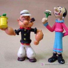 Figuras de Goma y PVC: 2 FIGURAS PVC POPEYE OLIVA 1986 COMICS SPAIN . Lote 15934006