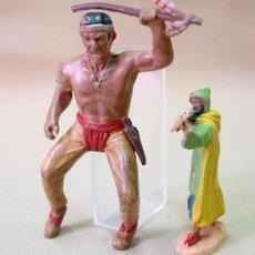 Figuras de Goma y PVC: FIGURA GOMA JUGUET MINGO EL ALAMO ? RARO. Lote 13375930