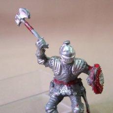Figuras de Goma y PVC: FIGURA DE PLASTICO, CABALLERO MEDIEVAL, LAFREDO, 5,5 CM, . Lote 12156976
