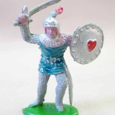Figuras de Goma y PVC: FIGURA MEDIEVAL EN PLASTICO LAFREDO SERIE REY ARTURO NO ARCLA. Lote 21586068