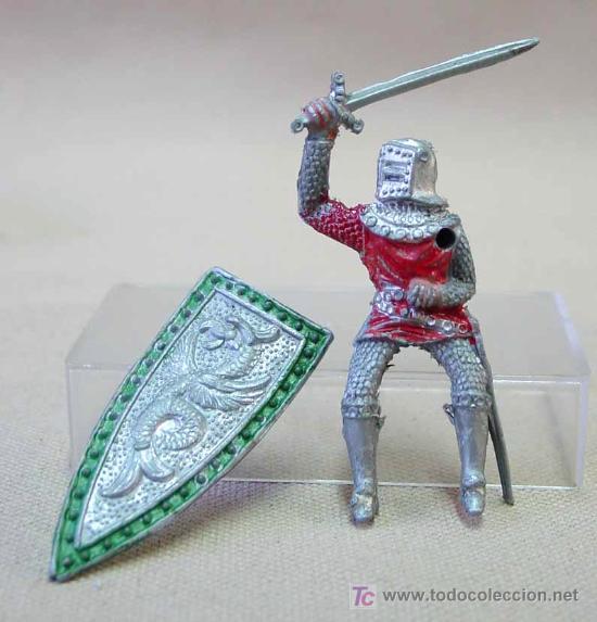 Figuras de Goma y PVC: FIGURA MEDIEVAL EN PLASTICO LAFREDO SERIE REY ARTURO NO ARCLA - Foto 3 - 12498671