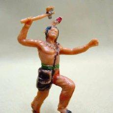 Figuras de Goma y PVC: FIGURA PLASTICO INDIO INDIAN JECSAN . Lote 13375937