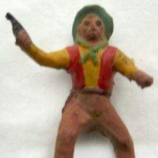 Figuras de Goma y PVC: VAQUERO A CABALLO DE CAPELL EN GOMA AÑOS 50. Lote 11654550