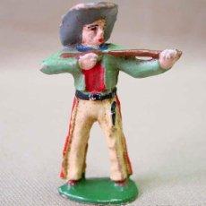 Figuras de Goma y PVC: FIGURA FRANCIA VAQUERO COW BOY STARLUX ? CLAIRET ? . Lote 13227400