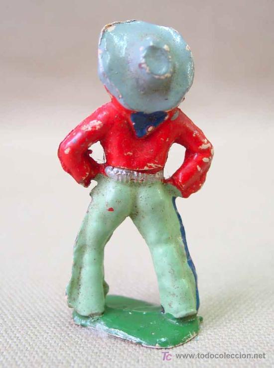 Figuras de Goma y PVC: FIGURA FRANCIA VAQUERO COW BOY STARLUX ? CLAIRET ? - Foto 2 - 19472291