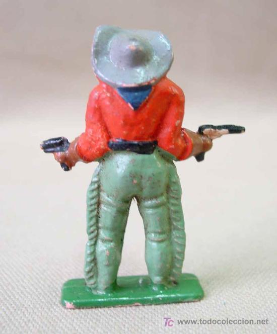 Figuras de Goma y PVC: FIGURA FRANCIA MUJER VAQUERO COW BOY STARLUX ? CLAIRET ? - Foto 2 - 13227399