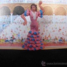 Figuras de Goma y PVC: BAILADORA DE FLAMENCO. Lote 42079829