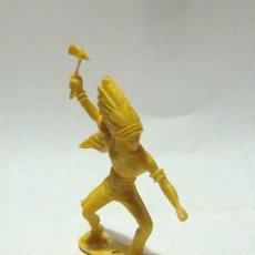Figuras de Goma y PVC: INDIOS Y VAQUEROS COMANSI. Lote 26297282