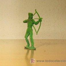 Figuras de Goma y PVC: COMANSI INDIOS Y VAQUEROS. Lote 16975707
