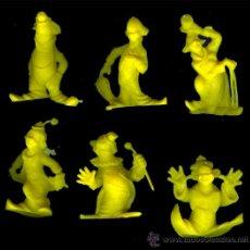 Figuras de Goma y PVC: COLECCION COMPLETA DE PAYASOS DE LA ROCHE AUX FEES, FIGURAS PROMOCIONALES O COMERCIALES. Lote 15440646