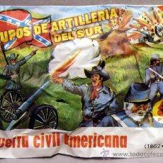 Figuras de Borracha e PVC: MONTAPLEX SOBRE GUERRA CIVIL AMERICANA ARTILLERIA DEL SUR CONFEDERADOS SURISTAS. Lote 212744697