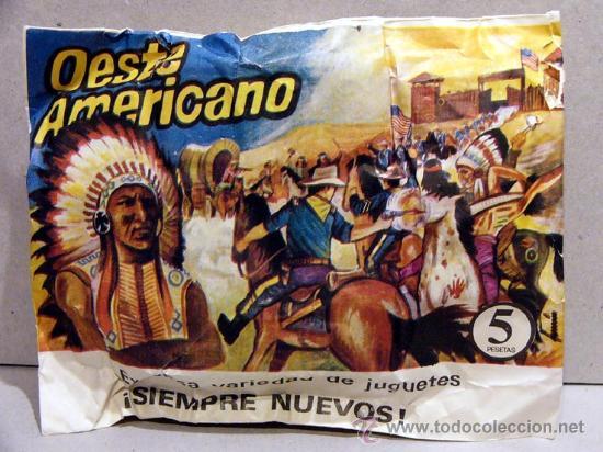 MONTAPLEX SOBRE FAR WEST OESTE AMERICANO INDIOS VAQUEROS USA SOLDADITOS 1 72 (Juguetes - Figuras de Goma y Pvc - Montaplex)