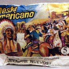 Figuras de Goma y PVC: MONTAPLEX SOBRE FAR WEST OESTE AMERICANO INDIOS VAQUEROS USA SOLDADITOS 1 72. Lote 151185981