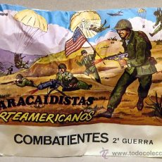 Figuras de Goma y PVC: MONTAPLEX SOBRE GRUPOS DE COMBATE PARACAIDISTAS NORTEAMERICANOS USA 2WW SOLDADITOS MONTAPLES. Lote 235608855