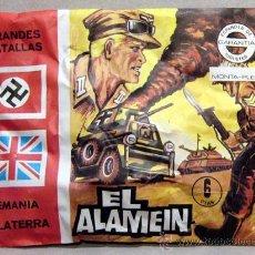 Figuras de Borracha e PVC: MONTAPLEX SOBRE GRANDES BATALLAS EL ALAMEIN ROMELL ALEMANIA SOLDADITOS 2WW SECOND WORLD WAR GERMANY. Lote 218310627