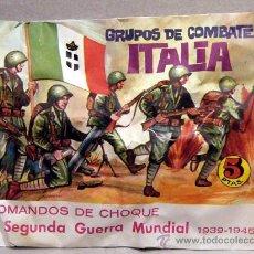 Figuras de Goma y PVC: MONTAPLEX SOBRE GRUPOS DE COMBATE ITALIA ITALY 2WW GUERRA MUNDIAL SOLDADITOS MONTAPLES ALFREEDOM. Lote 235608825