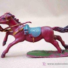 Figuras de Goma y PVC: CABALLO DE PLASTICO FABRICADO POR TORRES MALTA SERIE NAPOLEONICOS, , NO CAPELL. Lote 12899352