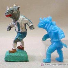 Figuras de Goma y PVC: PREMIUM PANRICO ANIMALES FUTBOLISTAS FUSILADOS DE LAFREDO, , NO PHOSKITOS. Lote 14057815