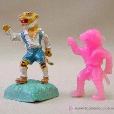 Figuras de Goma y PVC: PREMIUM PANRICO ANIMALES FUTBOLISTAS FUSILADOS DE LAFREDO, , NO PHOSKITOS. Lote 14057816