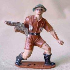 Figuras de Goma y PVC: RARA FIGURA DE PLASTICO COMANSI SOLDADO INGLES 1980S . Lote 12931810