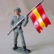 Figuras de Goma y PVC: RARA FIGURA DE PLASTICO COMANSI SOLDADO ESPAÑOL 1980S . Lote 12931964
