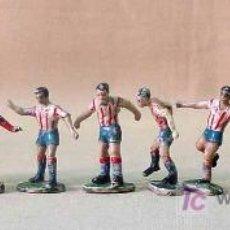Figuras de Goma y PVC: MUY RARO, EQUIPO ATLETICO MADRID, PLASTICO, ASTER, , . Lote 18536914
