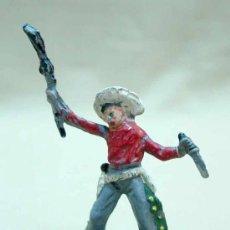 Figuras de Goma y PVC: RARA FIGURA PLASTICO, VAQUERO COW BOY, , . Lote 14055835