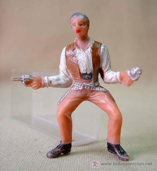 Figuras de Goma y PVC: FIGURA DE PLASTICO, SERIE GRAN CHAPARRAL, COMANSI, JOHN CANNON, - Foto 2 - 23743631