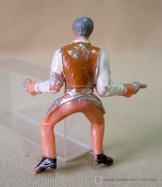 Figuras de Goma y PVC: FIGURA DE PLASTICO, SERIE GRAN CHAPARRAL, COMANSI, JOHN CANNON, - Foto 3 - 23743631