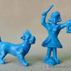 Figuras de Goma y PVC: PREMIUM CAMY JET O CAMIJET, 2 FIGURAS PLASTICO, FAMILIA CAMY JET, SPACE, MUY RARO, .. Lote 23340932