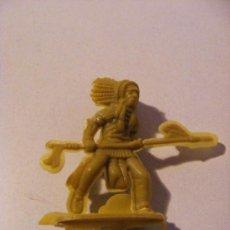 Figuras de Goma y PVC: INDIOS Y VAQUEROS, NO REAMSA, . Lote 19068758