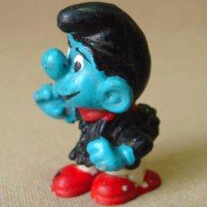 Figuras de Goma y PVC: FIGURA PVC PITUFO, THE SMURFS, PEYO ? . Lote 14462631