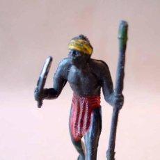 Figuras de Goma y PVC: MARAVILLOSA FIGURA, NEGRO, SAFARI AFRICA MISTERIOSA, CASA BLANCA, GULLIVER, NO TEIXIDO. Lote 20224264