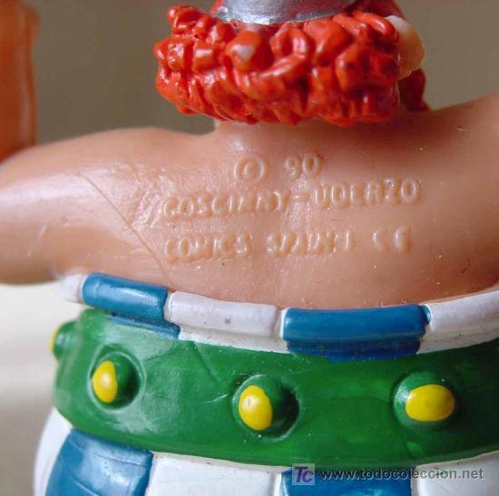 Figuras de Goma y PVC: FIGURA, SERIE ASTERIX, EN PVC, PERSONAJE ASTERIX, COMIC SPAIN, MEDIDAS: 8 cm - Foto 3 - 15554160